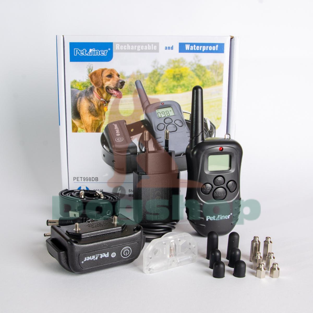 Petrainer 998DB elektromos kiképző nyakörv dog-shop (2)